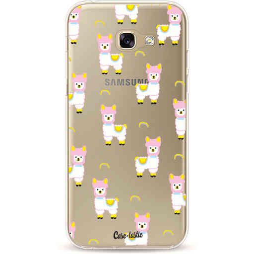 Casetastic Softcover Samsung Galaxy A5 (2017) - Rainbow Llama