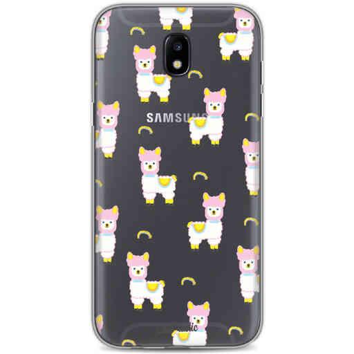 Casetastic Softcover Samsung Galaxy J5 (2017) - Rainbow Llama