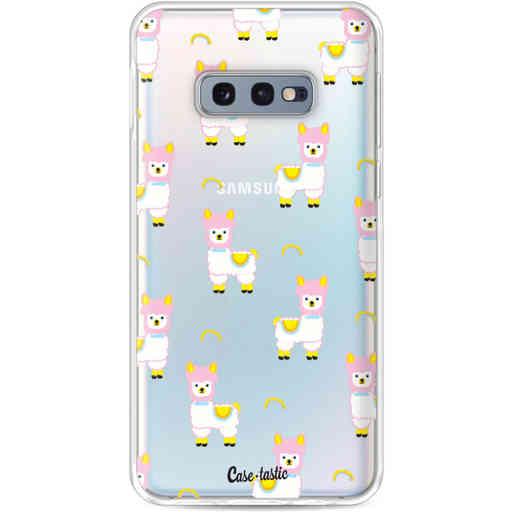 Casetastic Softcover Samsung Galaxy S10e - Rainbow Llama