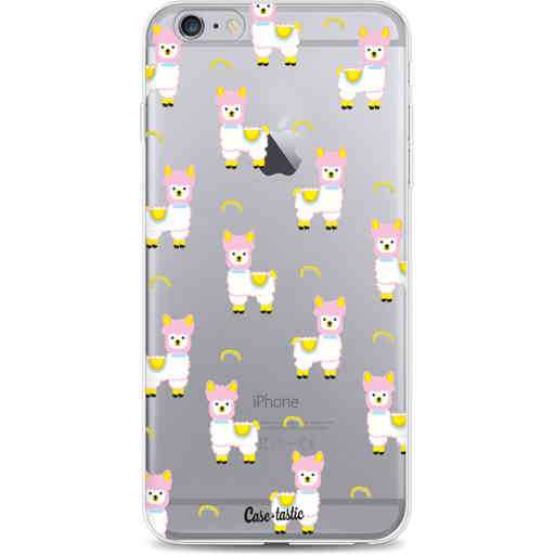 Casetastic Softcover Apple iPhone 6 Plus / 6s Plus - Rainbow Llama