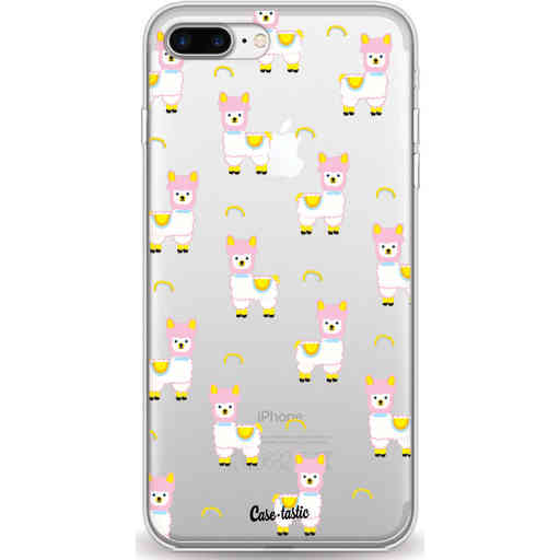 Casetastic Softcover Apple iPhone 7 Plus / 8 Plus - Rainbow Llama