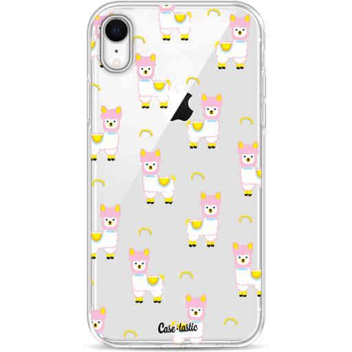 Casetastic Softcover Apple iPhone XR - Rainbow Llama