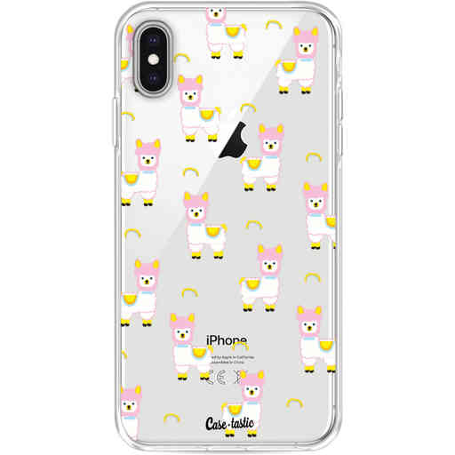 Casetastic Softcover Apple iPhone XS Max - Rainbow Llama