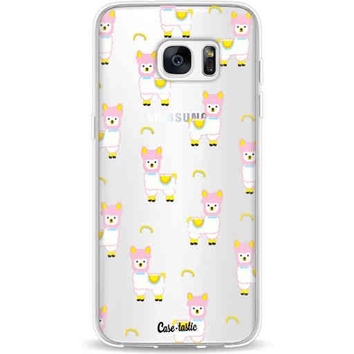 Casetastic Softcover Samsung Galaxy S7 Edge - Rainbow Llama