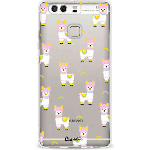 Casetastic Softcover Huawei P9 - Rainbow Llama
