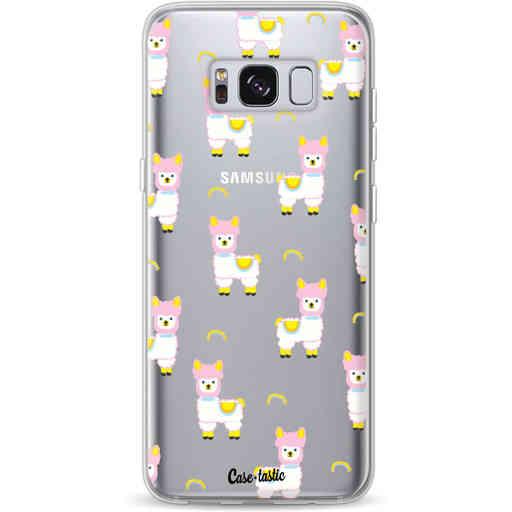Casetastic Softcover Samsung Galaxy S8 - Rainbow Llama