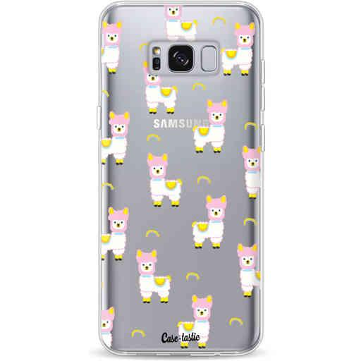 Casetastic Softcover Samsung Galaxy S8 Plus - Rainbow Llama
