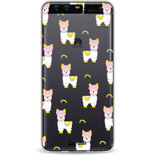 Casetastic Softcover Huawei P10 - Rainbow Llama