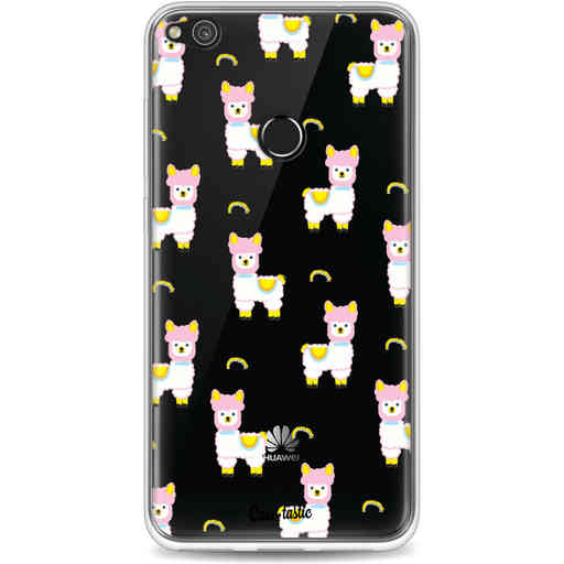 Casetastic Softcover Huawei P8 Lite (2017) - Rainbow Llama