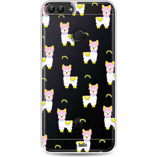 Casetastic Softcover Huawei P Smart - Rainbow Llama