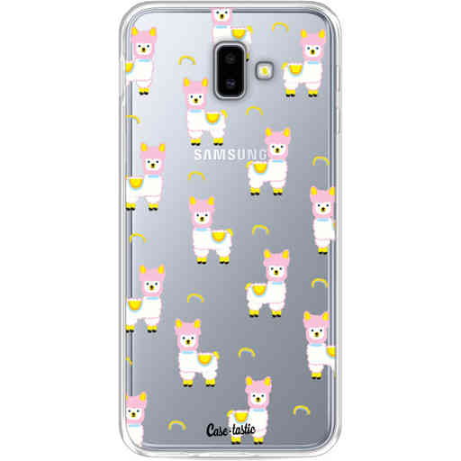 Casetastic Softcover Samsung Galaxy J6 Plus (2018) - Rainbow Llama