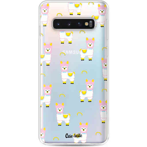 Casetastic Softcover Samsung Galaxy S10 - Rainbow Llama