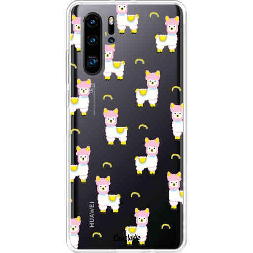 Casetastic Softcover Huawei P30 PRO - Rainbow Llama