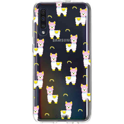 Casetastic Softcover Samsung Galaxy A50 (2019) - Rainbow Llama