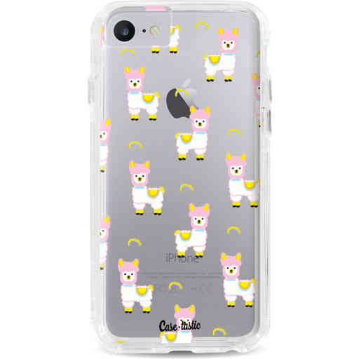 Casetastic Dual Snap Case Apple iPhone 7 / 8 - Rainbow Llama
