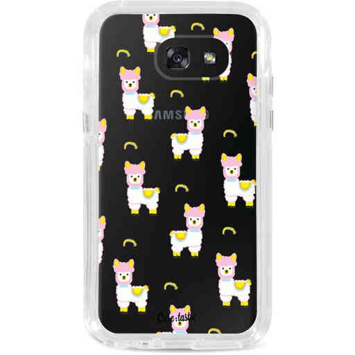 Casetastic Dual Snap Case Samsung Galaxy A5 (2017) - Rainbow Llama