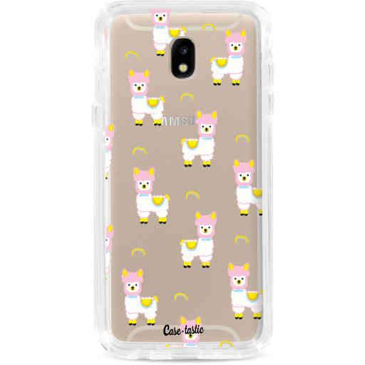 Casetastic Dual Snap Case Samsung Galaxy J5 (2017) - Rainbow Llama