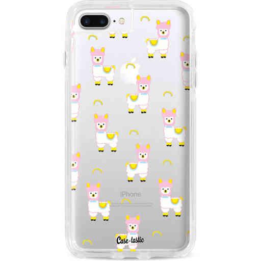 Casetastic Dual Snap Case Apple iPhone 7 Plus / 8 Plus - Rainbow Llama