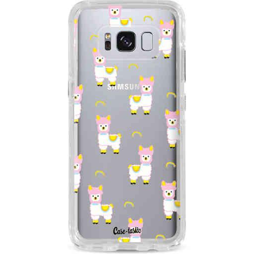 Casetastic Dual Snap Case Samsung Galaxy S8 - Rainbow Llama