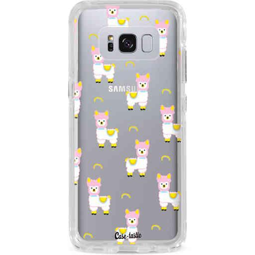 Casetastic Dual Snap Case Samsung Galaxy S8 Plus - Rainbow Llama