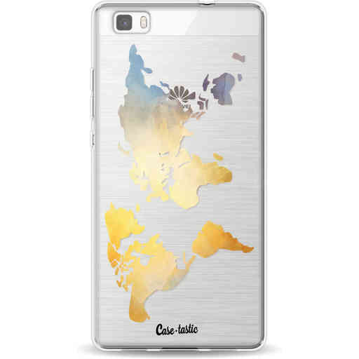 Casetastic Softcover Huawei P8 Lite - Brilliant World