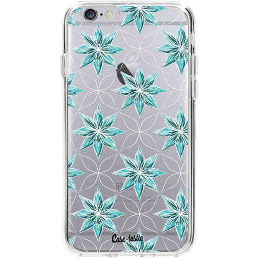 Casetastic Softcover Apple iPhone 6 / 6s - Statement Flowers Blue