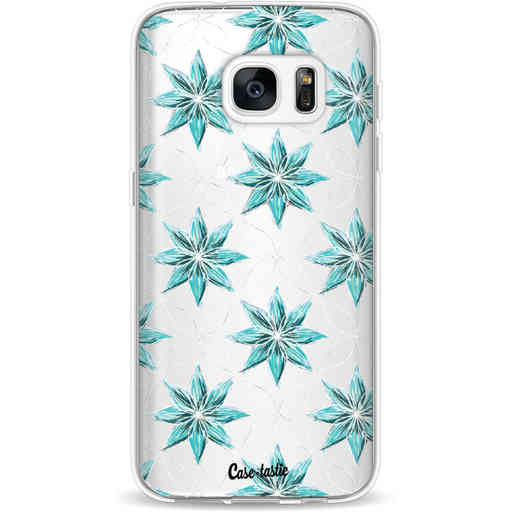 Casetastic Softcover Samsung Galaxy S7 - Statement Flowers Blue