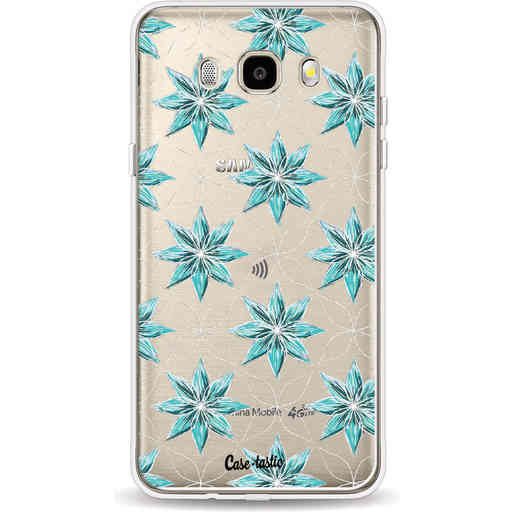 Casetastic Softcover Samsung Galaxy J5 (2016) - Statement Flowers Blue