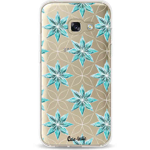 Casetastic Softcover Samsung Galaxy A3 (2017)  - Statement Flowers Blue