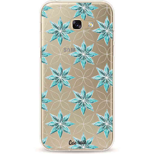 Casetastic Softcover Samsung Galaxy A5 (2017) - Statement Flowers Blue