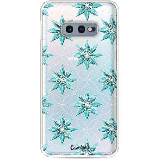 Casetastic Softcover Samsung Galaxy S10e - Statement Flowers Blue