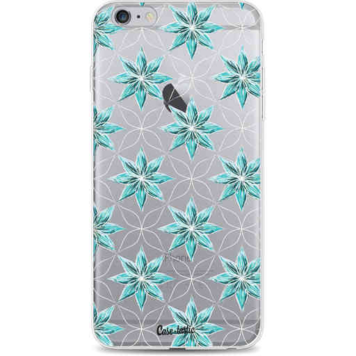 Casetastic Softcover Apple iPhone 6 Plus / 6s Plus - Statement Flowers Blue