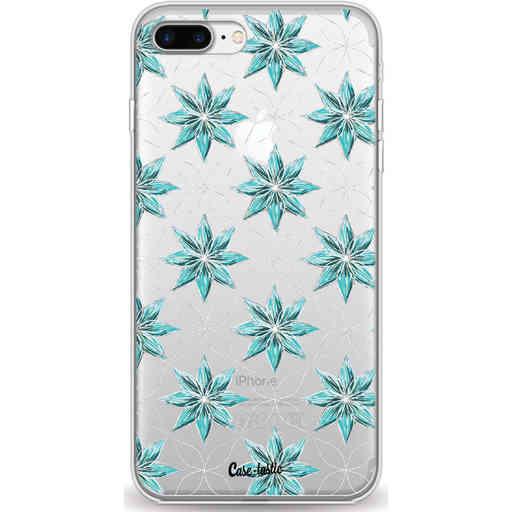 Casetastic Softcover Apple iPhone 7 Plus / 8 Plus - Statement Flowers Blue