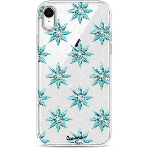 Casetastic Softcover Apple iPhone XR - Statement Flowers Blue