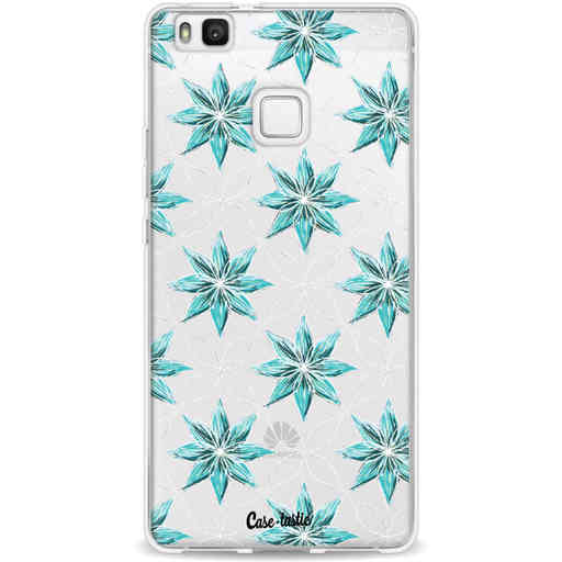 Casetastic Softcover Huawei P9 Lite - Statement Flowers Blue
