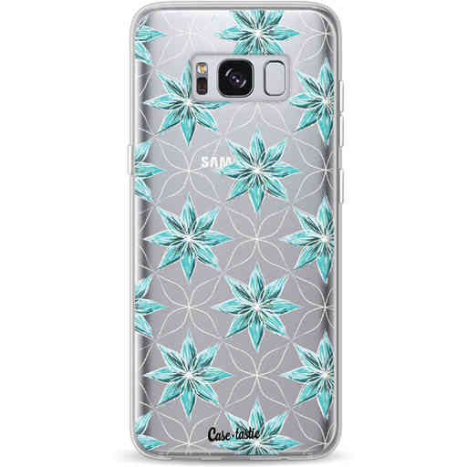 Casetastic Softcover Samsung Galaxy S8 - Statement Flowers Blue