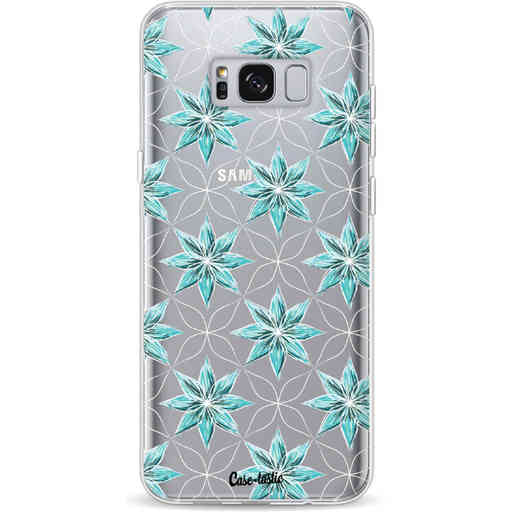Casetastic Softcover Samsung Galaxy S8 Plus - Statement Flowers Blue