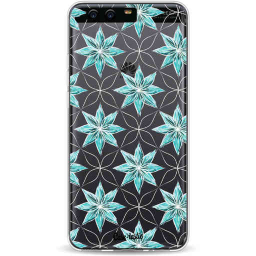 Casetastic Softcover Huawei P10 - Statement Flowers Blue