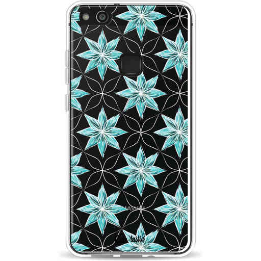 Casetastic Softcover Huawei P10 Lite - Statement Flowers Blue