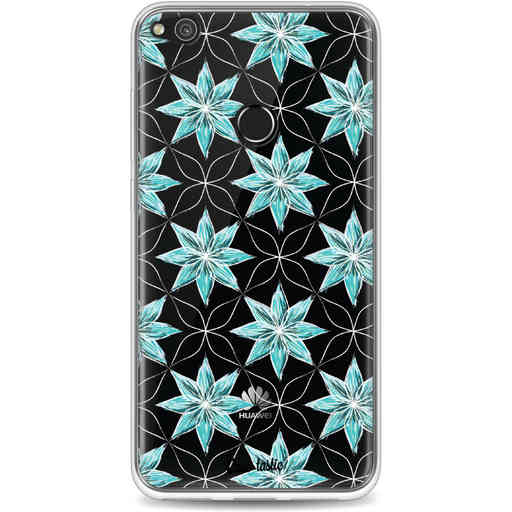 Casetastic Softcover Huawei P8 Lite (2017) - Statement Flowers Blue
