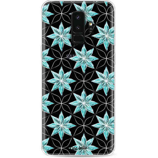 Casetastic Softcover Samsung Galaxy S9 Plus - Statement Flowers Blue