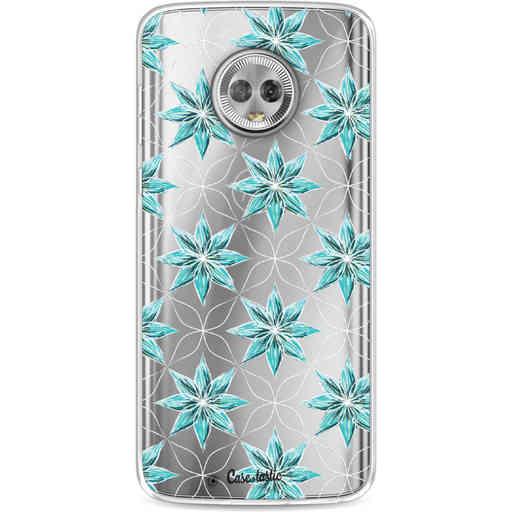 Casetastic Softcover Motorola Moto G6 - Statement Flowers Blue