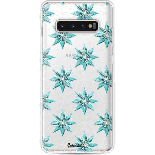 Casetastic Softcover Samsung Galaxy S10 Plus - Statement Flowers Blue