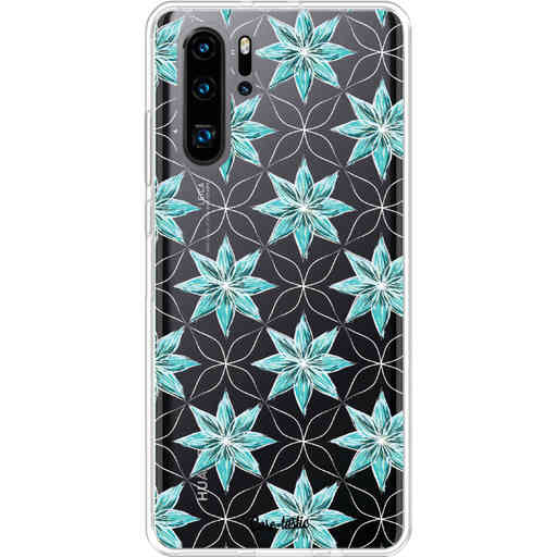 Casetastic Softcover Huawei P30 PRO - Statement Flowers Blue