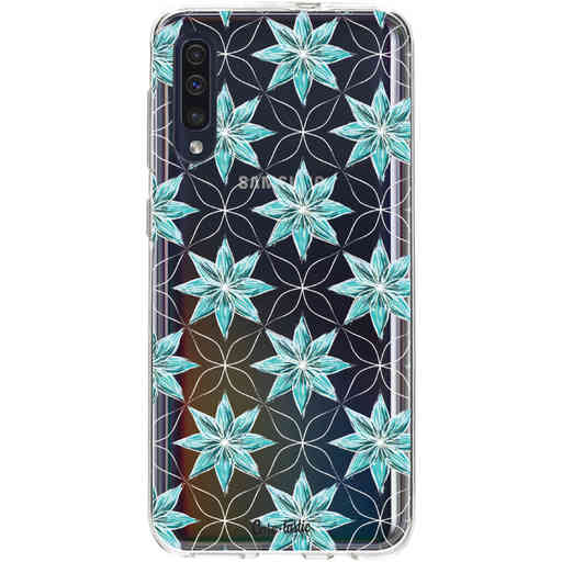 Casetastic Softcover Samsung Galaxy A50 (2019) - Statement Flowers Blue
