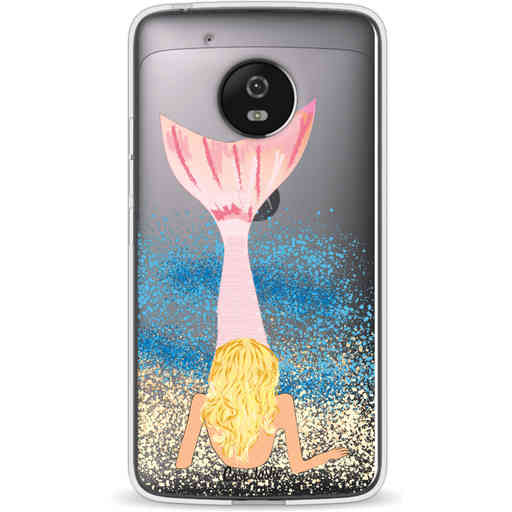 Casetastic Softcover Motorola Moto G5 - Mermaid Blonde