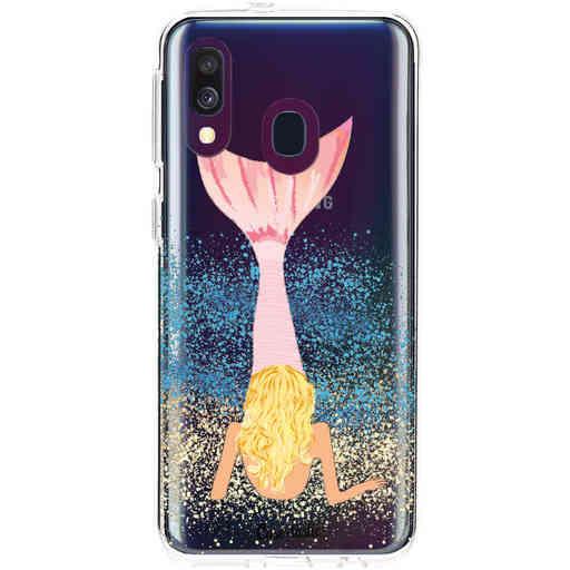 Casetastic Softcover Samsung Galaxy A40 (2019) - Mermaid Blonde