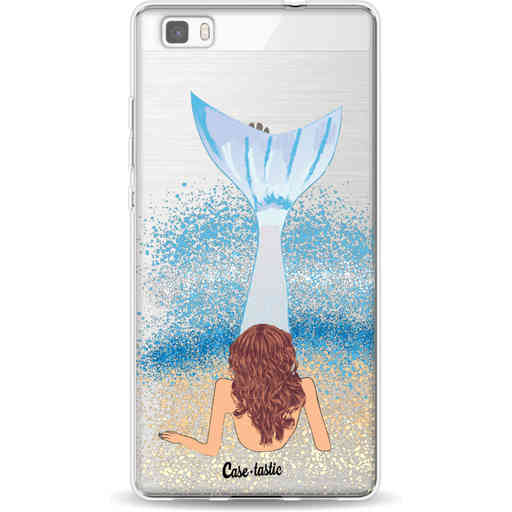 Casetastic Softcover Huawei P8 Lite - Mermaid Brunette