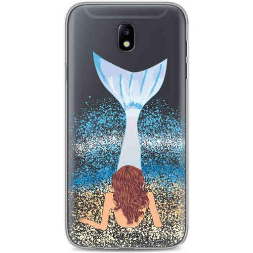 Casetastic Softcover Samsung Galaxy J7 (2017) - Mermaid Brunette
