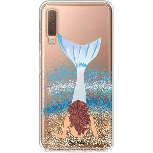 Casetastic Softcover Samsung Galaxy A7 (2018) - Mermaid Brunette